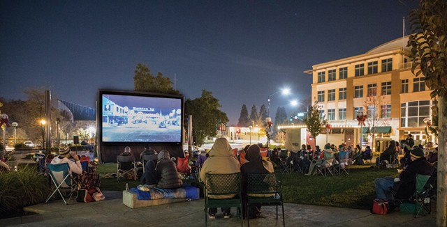 Free outdoor movie nights for kids and adults - April 20th & May 18th